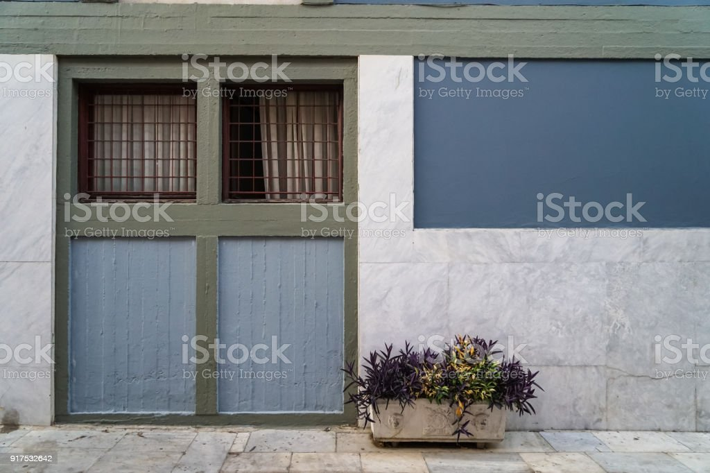 Photo De Stock De Scene Des Beaux Fond De Facade En Pastel