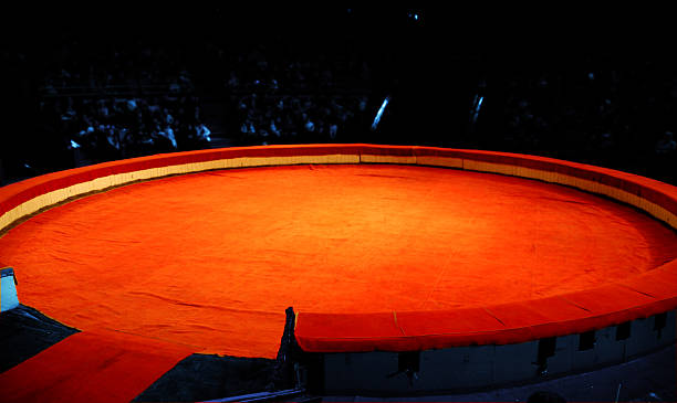 scene of circus - circus background stock photos and pictures