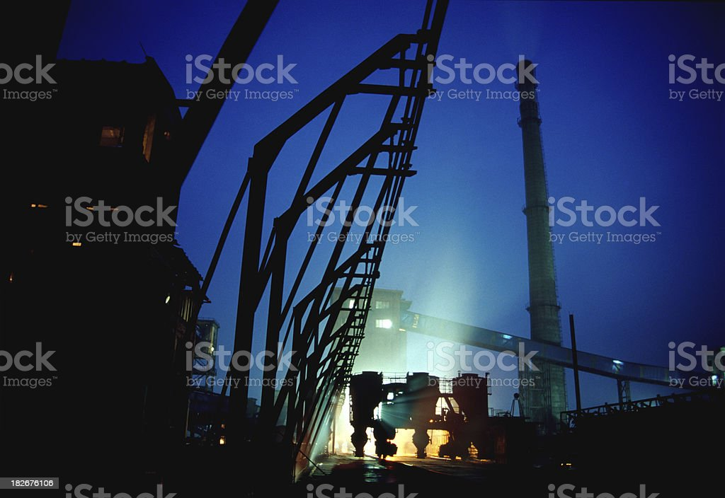 scene of industry stock photo