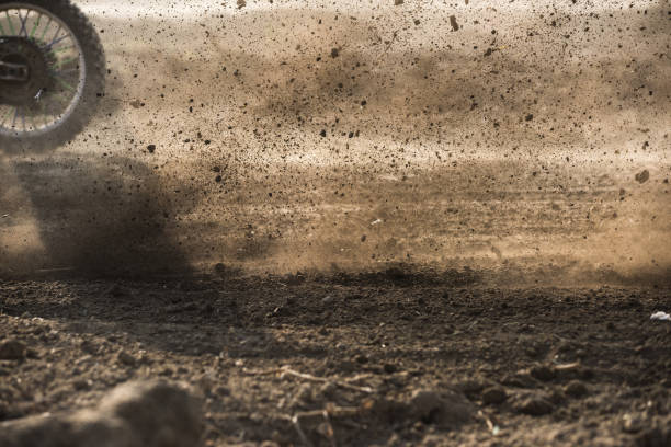 scene of Motorcross racing – Foto