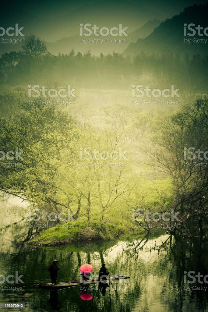 scene of rural stock photo