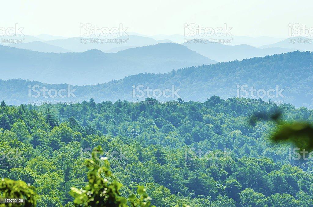 scenery around lake jocasse gorge royalty-free stock photo