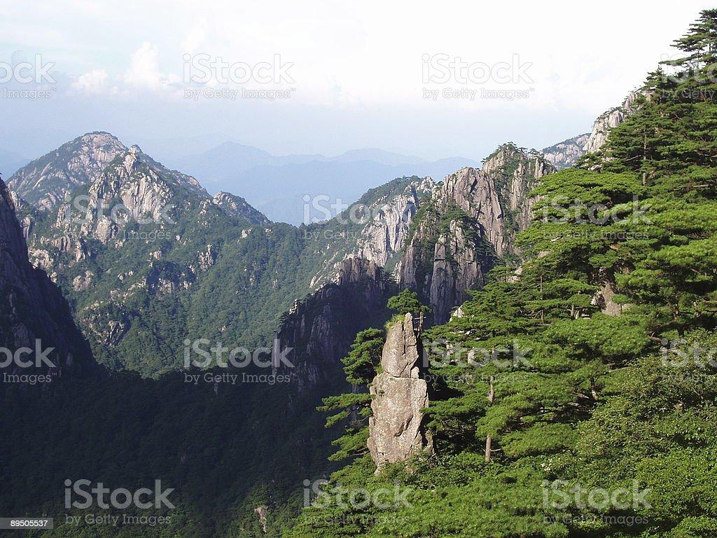 Paesaggio di montagna foto stock royalty-free
