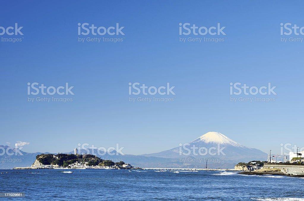Scenery from inamuragasaki. stock photo