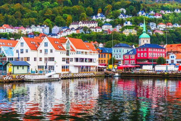 Paysage de Bergen, Norvège - Photo