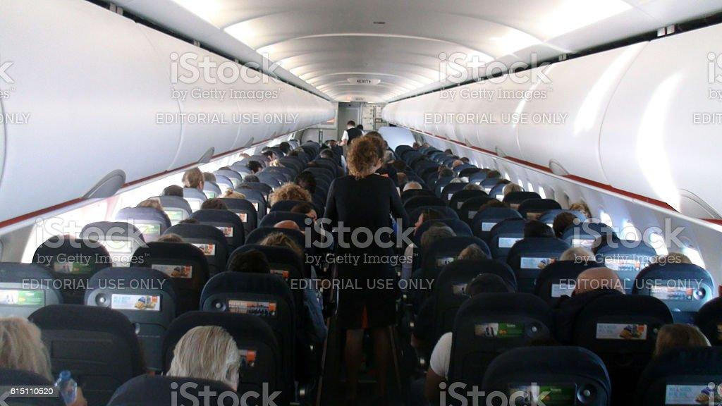 Amsterdam, The Netherlands - September 15, 2016: Scenery Of Easyjet...