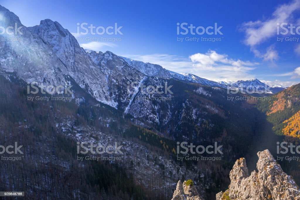 Scenery of tatra mountains at winter stock photo more pictures of scenery of tatra mountains at winter royalty free stock photo voltagebd Images