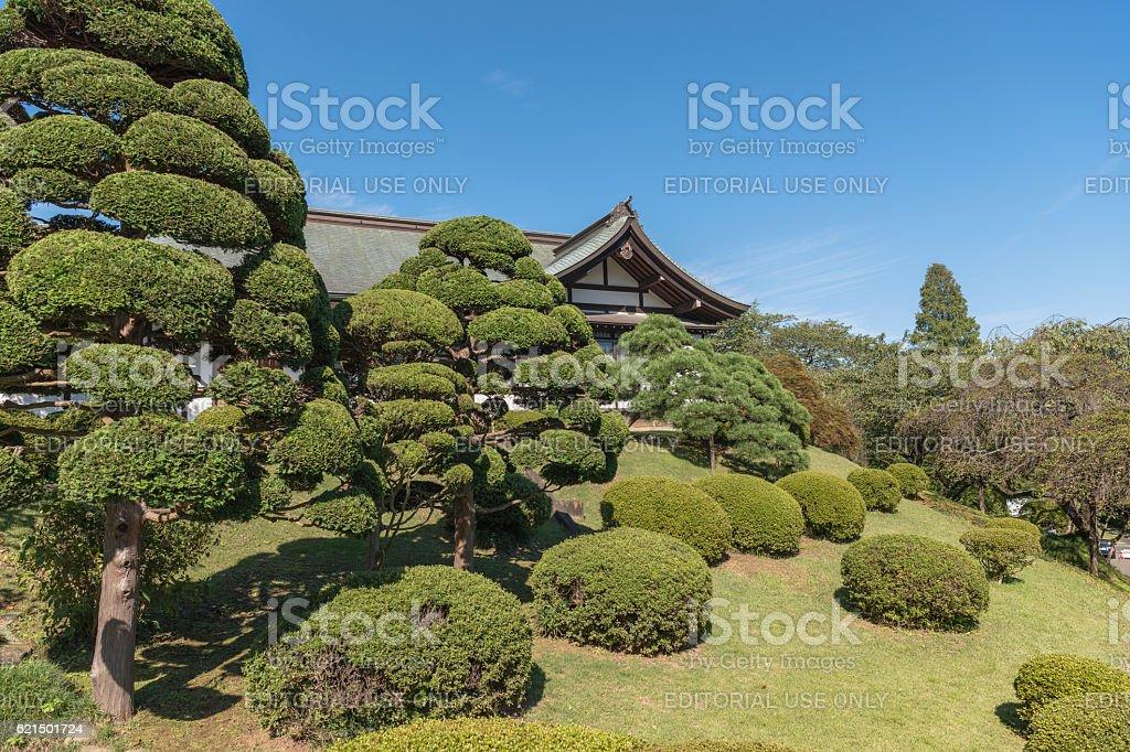 Scenery of the Shiogama jinja shrine photo libre de droits