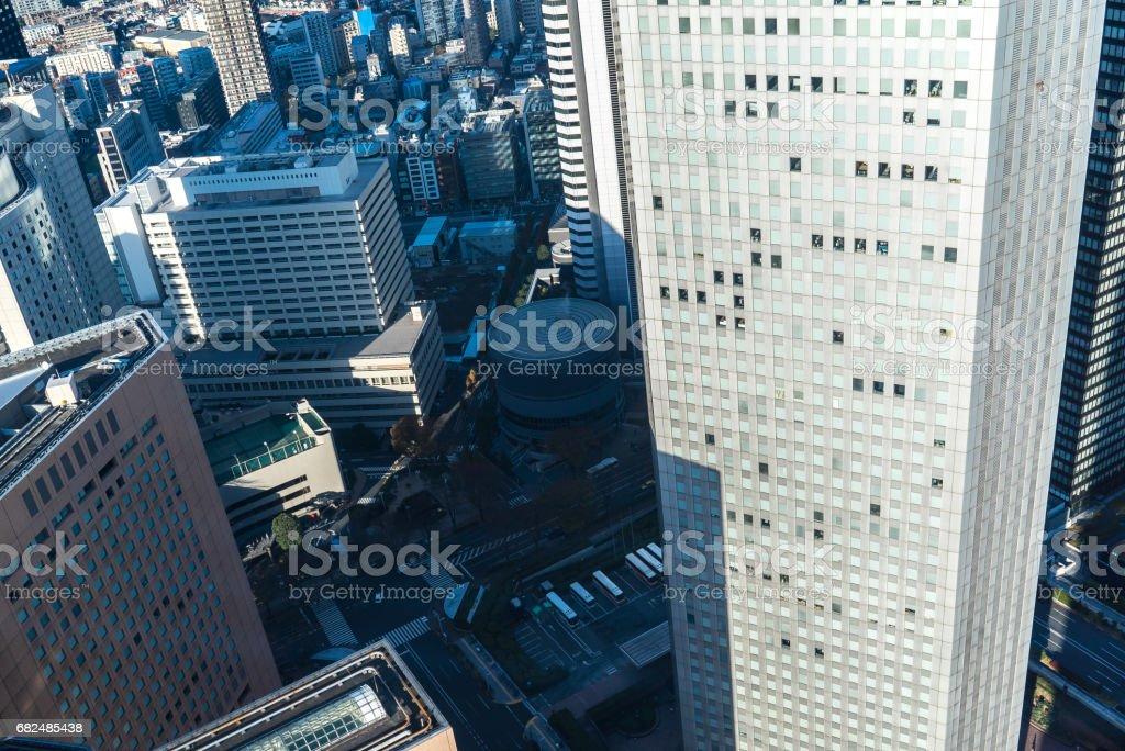 Paisaje de Tokio foto de stock libre de derechos
