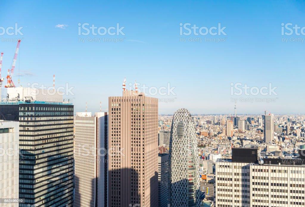 Scenery of Tokyo foto stock royalty-free