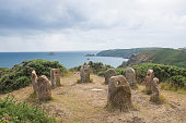 Scenery with Stone Circle called \