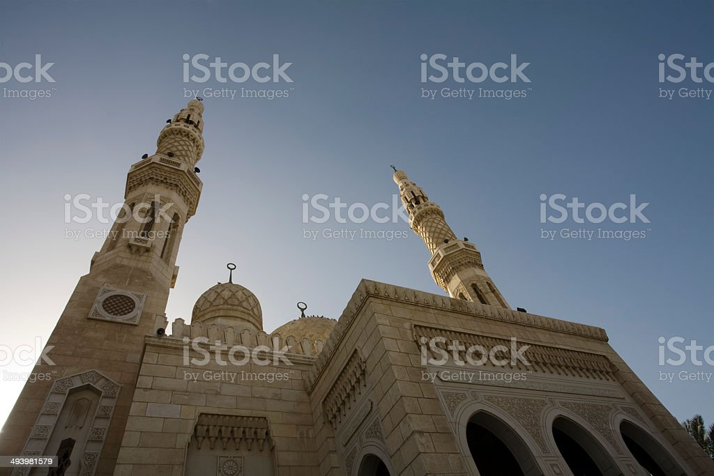 Scenes of Dubai stock photo