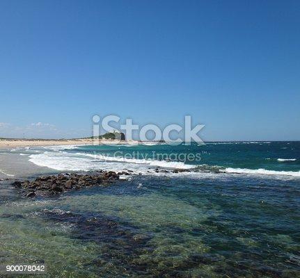 Scenes of Nobbys Beach, Newcastle, NSW Australia.