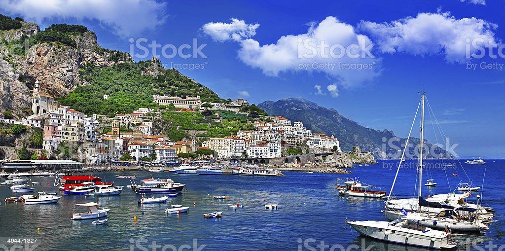 scenic Amalfi. Itlay royalty-free stock photo