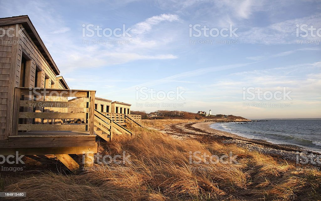 Scenic Beach stock photo