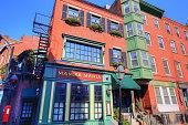 istock BOSTON, MA, USA-OCTOBER 20, 2017: Scenic Boston North End Streets 958975662