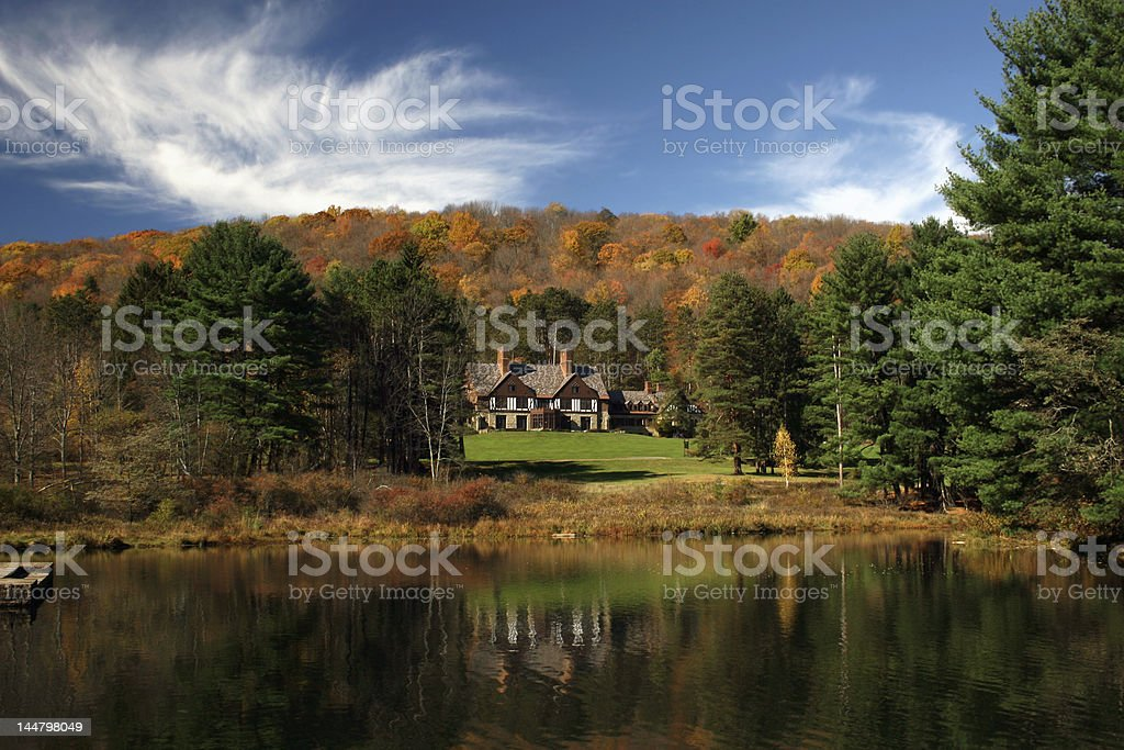 Scenic Cabin royalty-free stock photo
