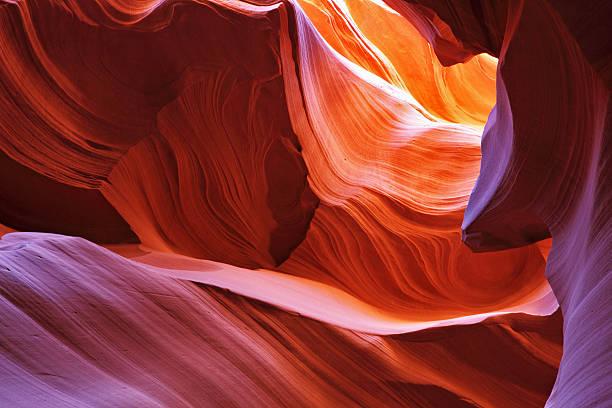 malerische canyon-antelope - canyon stock-fotos und bilder