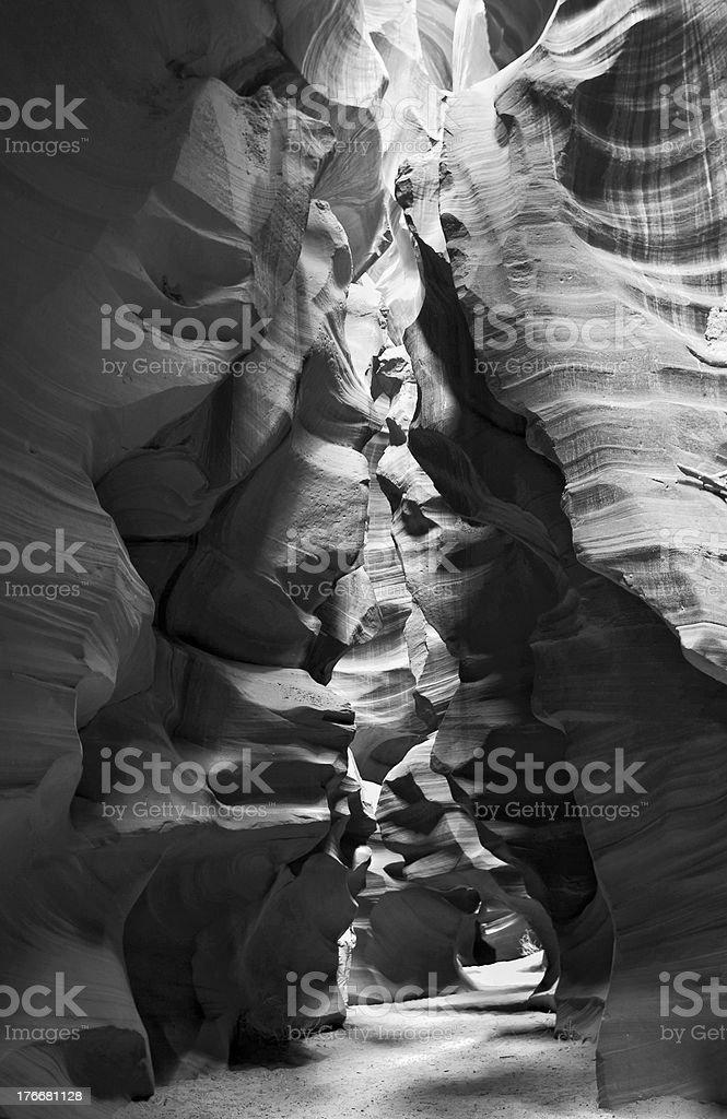 Cañón del antílope PANORÁMICA foto de stock libre de derechos