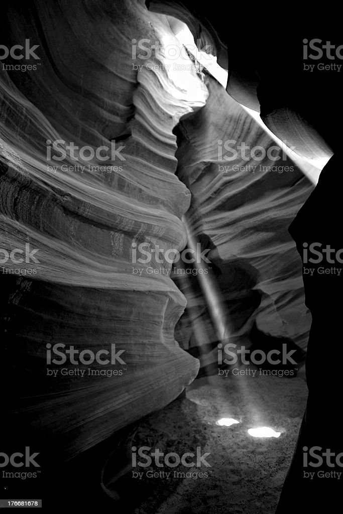 Scenic canyon Antelope royalty-free stock photo
