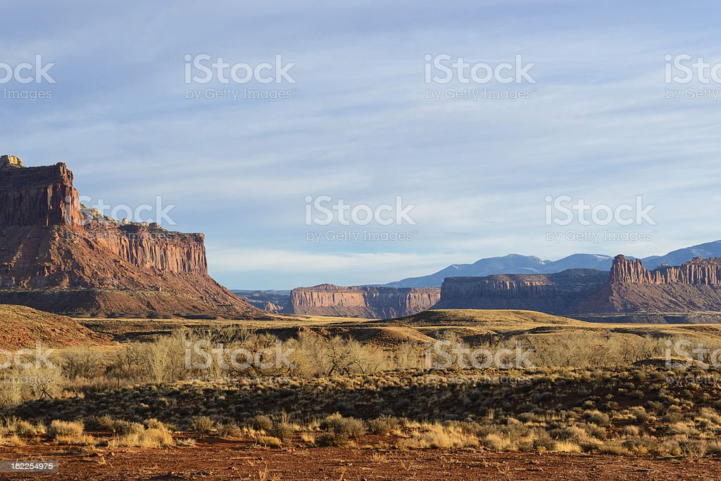 Scenic Canyonlands Landscape stock photo