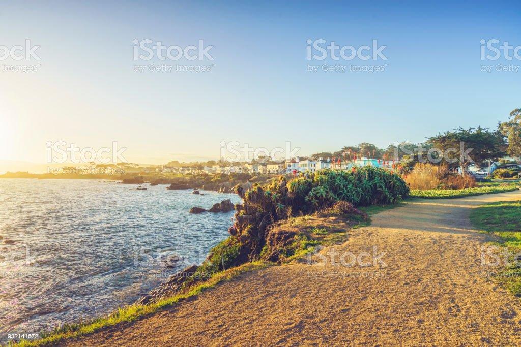 malerischen Carmel Strand von Carmel-by-the-Sea, California – Foto