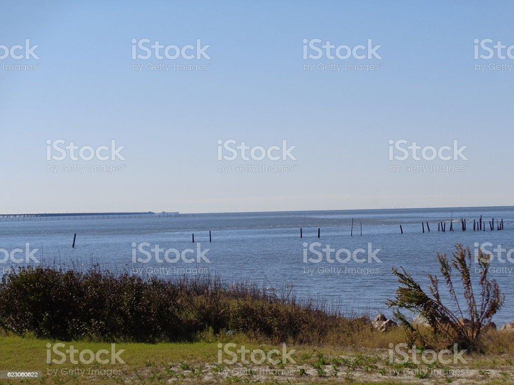 Scenic Chesapeake Bay Water View stock photo