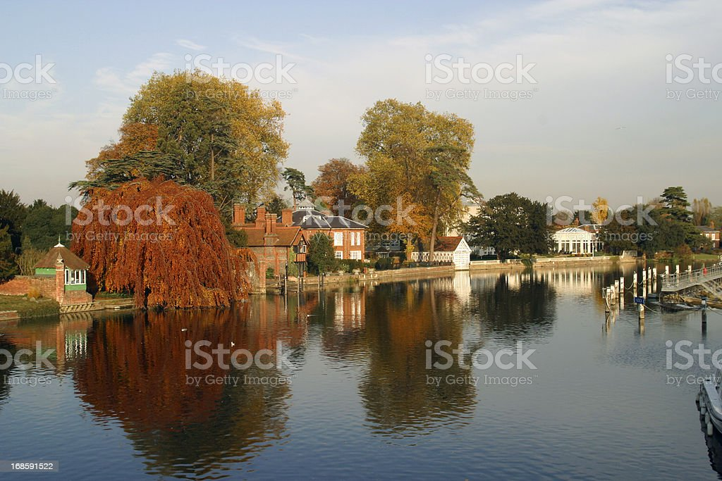 Scenic Chilterns - Marlow stock photo
