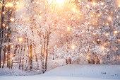 istock Scenic christmas background 1191513400
