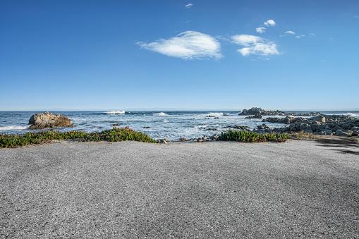 scenic coastline landscape,at Carmel-by-the-Sea,California,USA.