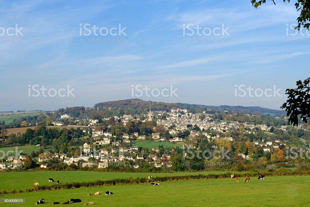 Scenic Cotswolds, Painswick stock photo