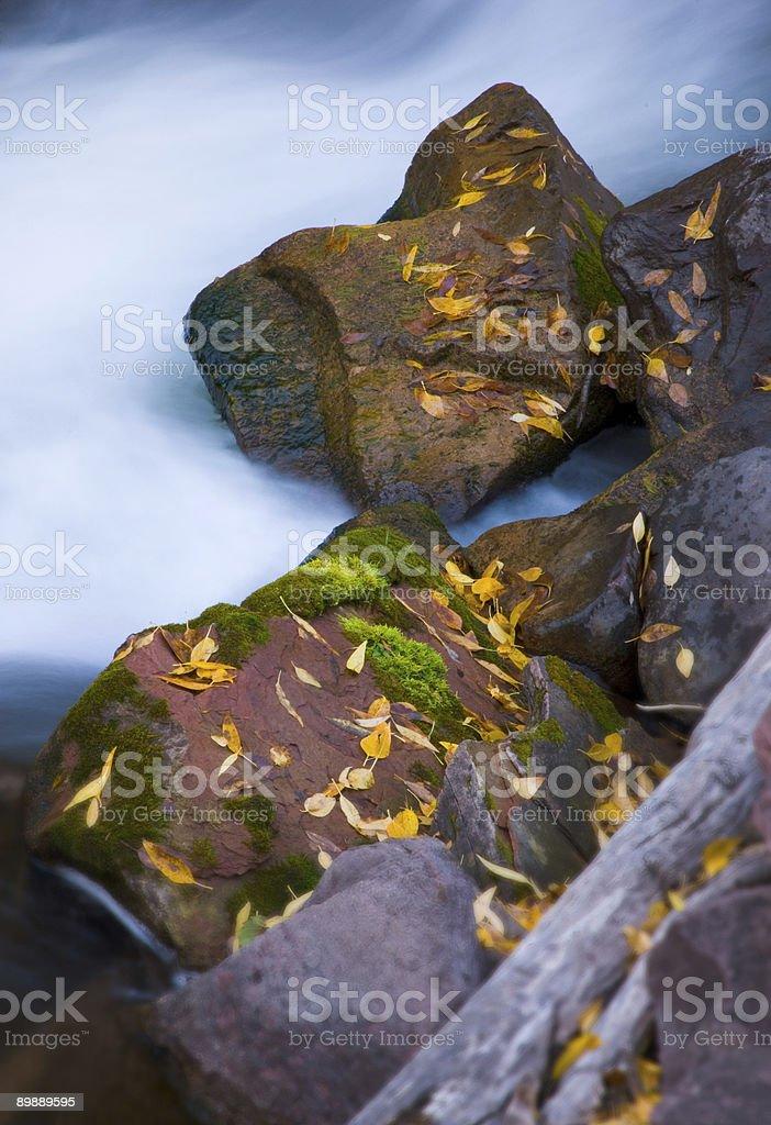 Живописный залив и камней Стоковые фото Стоковая фотография