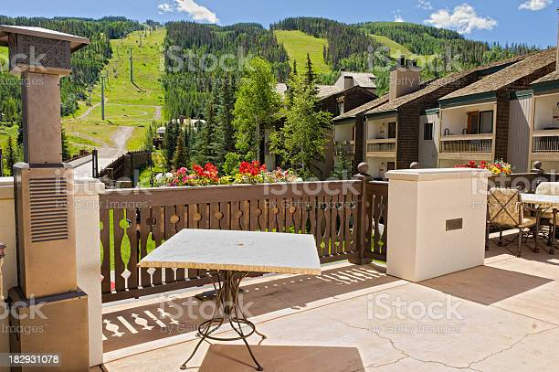 Photo of Scenic Deck View in Vail Colorado