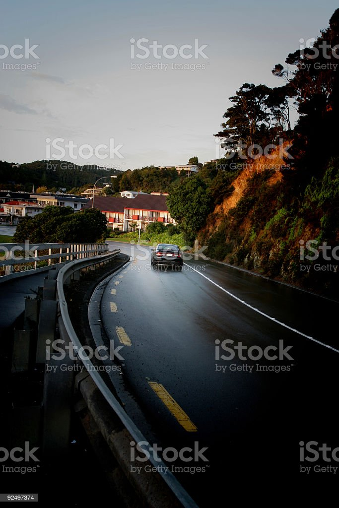 Scenic Drive royalty-free stock photo