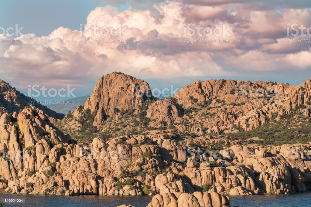 Scenic Granite Dells Prescott Arizona stock photo