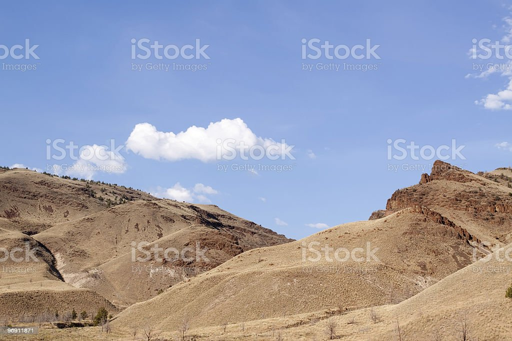 Scenic hills of Oregon royalty-free stock photo