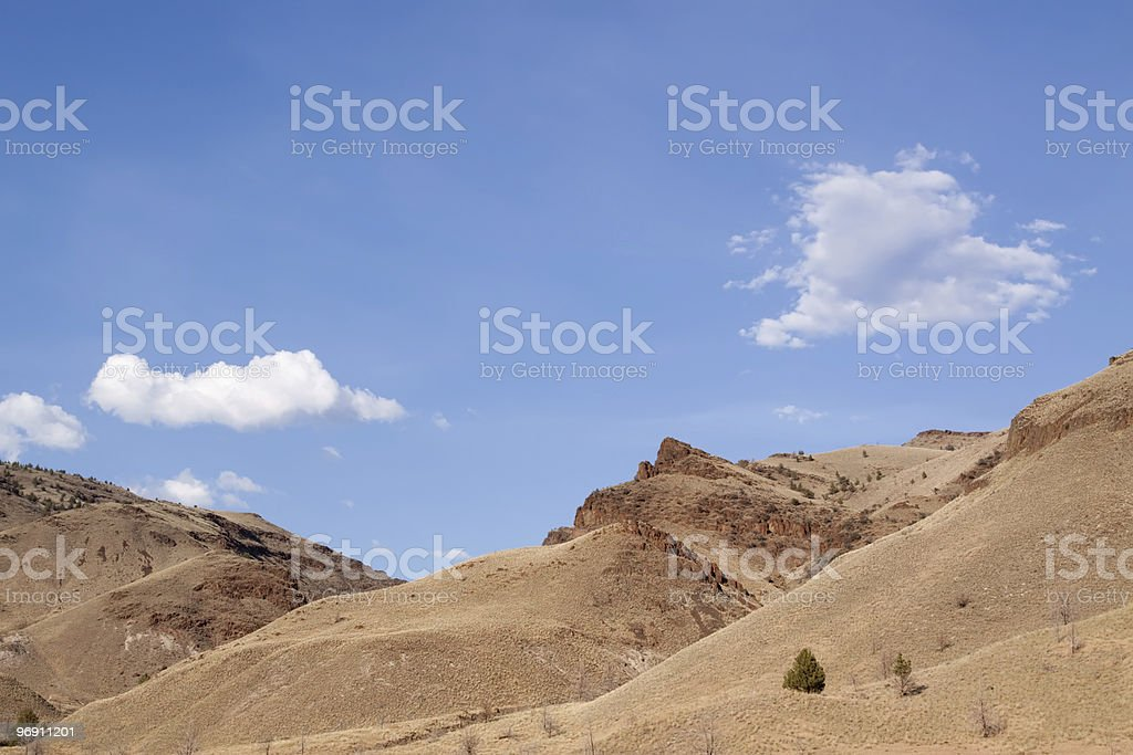 Scenic hills of southern Oregon royalty-free stock photo
