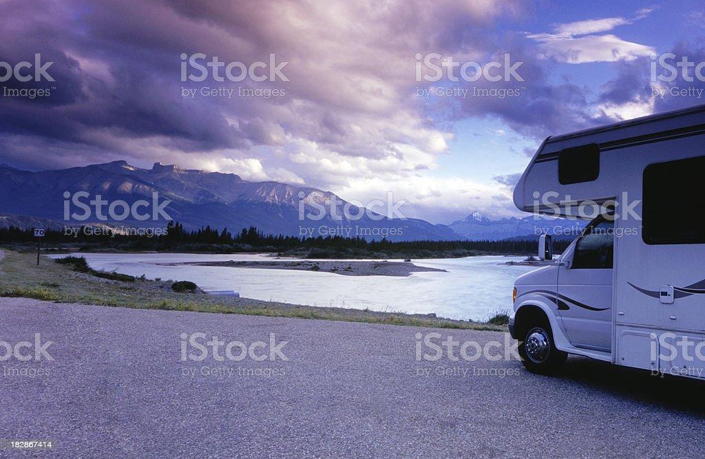 Scenic in Jasper royalty-free stock photo
