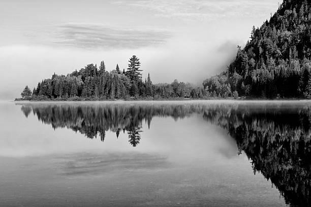 Scenic Lake in Mont Tremblant National Park