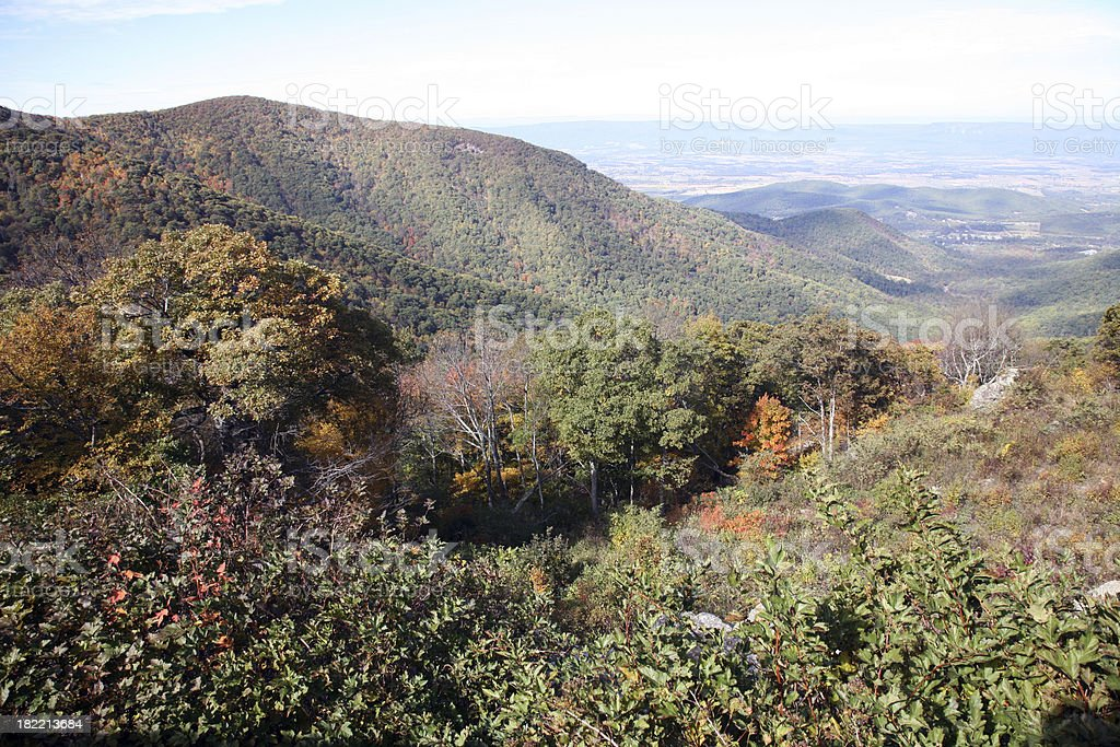 Scenic Landscape Of Shenandoah Valley royalty-free stock photo