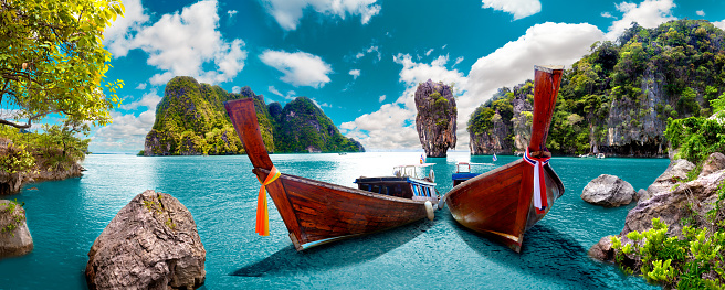 istock Scenic landscape.Phuket Seascape 870118482