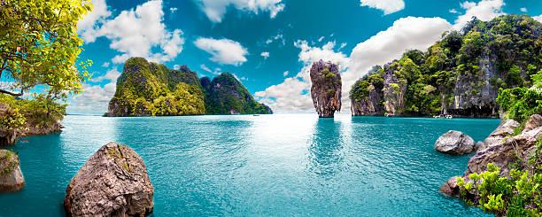 malerische landschaft. seascape - idylle stock-fotos und bilder