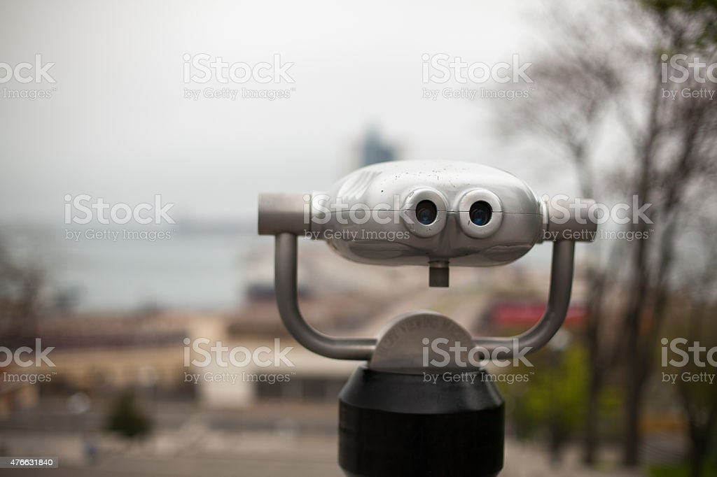 Scenic lookout stock photo