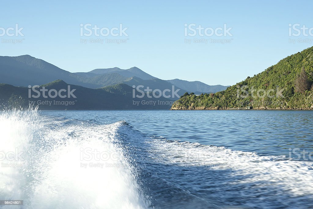 Scenic Marlborough Sounds, New Zealand. royalty-free stock photo