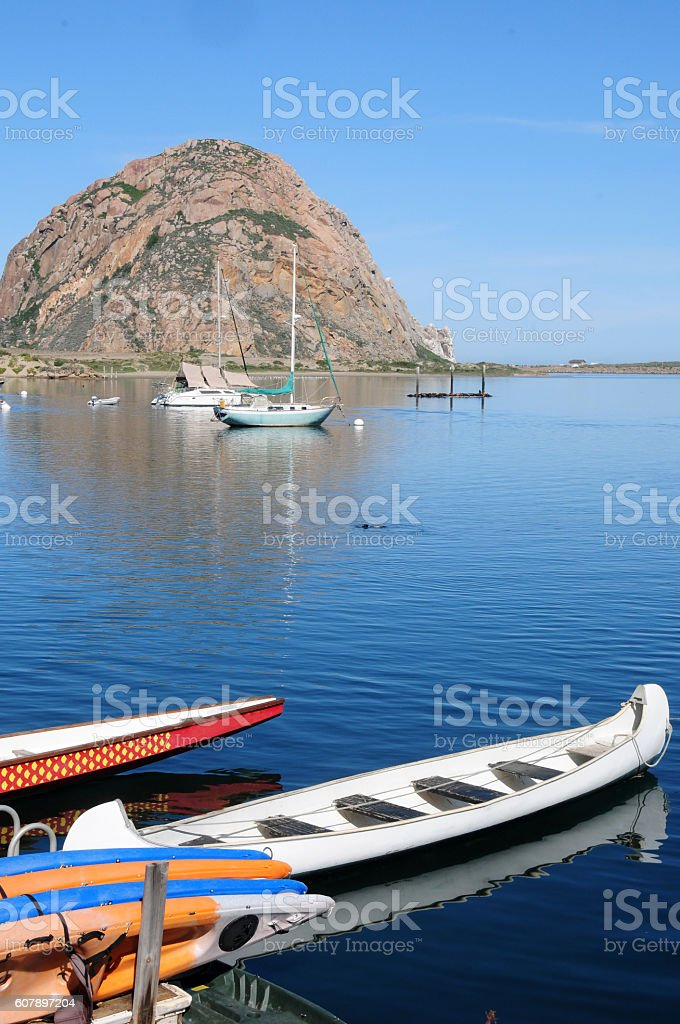 Scenic Morro Bay, Caliofrnia stock photo