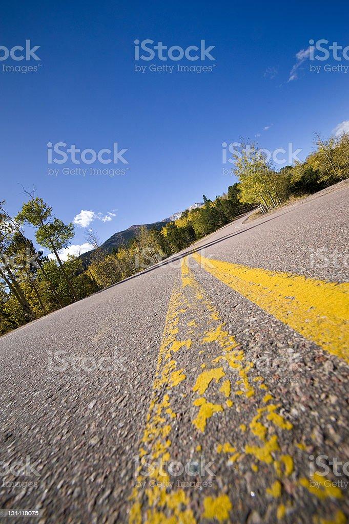 scenic mountain drive up pikes peak colorado stock photo more