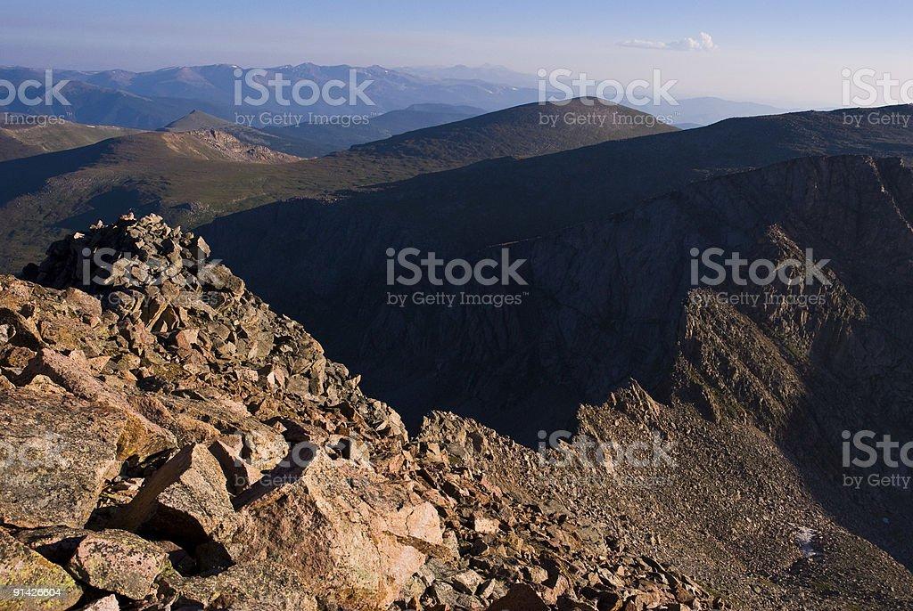 Scenic Mountain Ridge royalty-free stock photo