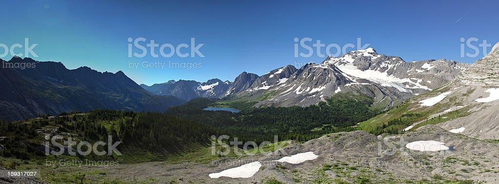 Scenic Mountain Views Kananaskis Country Alberta Canada royalty-free stock photo