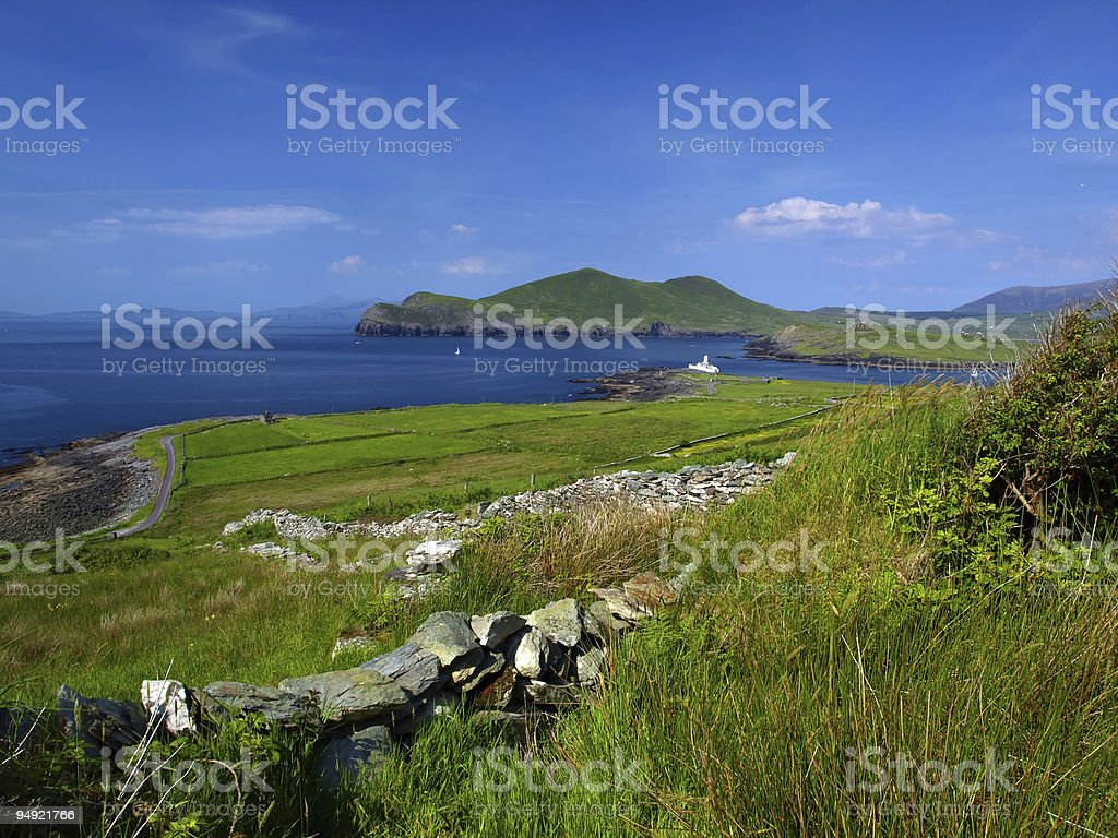 scenic nature landscape ireland stock photo