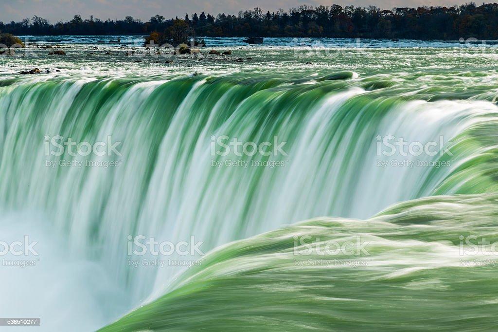 Scenic Niagara Falls, Ontario, Canada stock photo